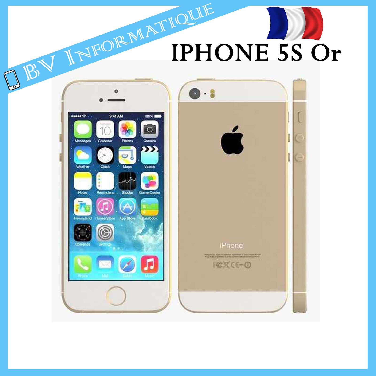apple iphone 5s 16 go or d bloqu tout op rateur garantie 6 mois ebay. Black Bedroom Furniture Sets. Home Design Ideas